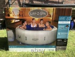 Lay Z Spa Paris 6 Person 2021 LED Lights Hot Tub Brand New Collect NOW