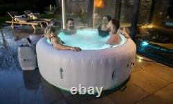 Lay Z Spa Paris 6 Person AirJet Hot Tub LED Lights 2021 Model NEW
