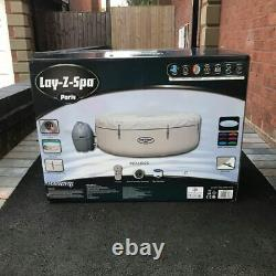 Lay Z Spa Paris 6 Person Inflatable Hot Tub 2020 with LED Lights
