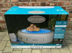 Lay-Z-Spa Paris 6 Person Inflatable Hot Tub 2021 Model With LED Lights