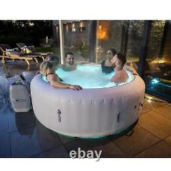 Lay-Z-Spa Paris AirJet Hot Tub 6 Person / 2021 with LED lighting FAST SHIPPING