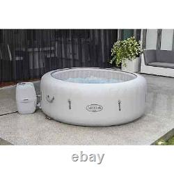 Lay-Z-Spa Paris AirJet Hot Tub With Led Lights 4-6 People Brand New - 24HR