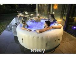 Lay Z Spa Paris AirJet LED Lighting brand NEW hot tub 6 adults