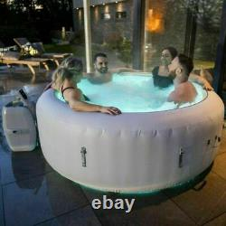 Lay-Z-Spa Paris Airjet 6 person Hot tub 2021 model LED Lights FAST SHIPPING