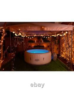 Lay-Z Spa Paris Airjet Inflatable Hot Tub 4-6 People New LED Lights