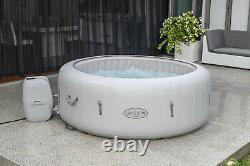 Lay-Z-Spa Paris Hot Tub 2021 Model Built in LED Light & Freeze Shield Technology