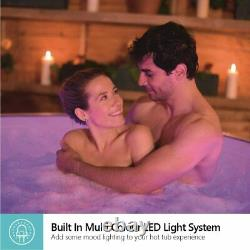 Lay-Z-Spa Paris Hot Tub with 7 LED lights