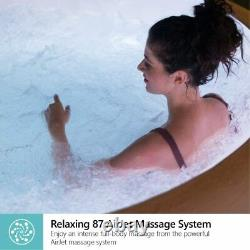 Lay-Z-Spa Paris Hot Tub with Built In LED Light System AirJet Massage System %%