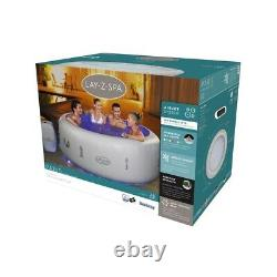 Lay -Z-Spa Paris Inflatable Hot TubLED Lights4-6 PersonBRAND NEW & FREE