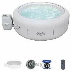 Lay Z Spa Paris LED Lighting Hot Tub Comfortably Fits 4-6 Adults