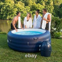 Lay-Z-Spa Saint Tropez Hot Tub with Floating LED Light, AirJet Massage System