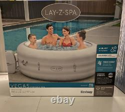 Lay Z Spa Vegas 6 Person Hot Tub LED Light Included Not Paris