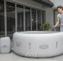 Lay z Spa Paris 6 Person Hot Tub LED Lighting-Brand New With Warranty