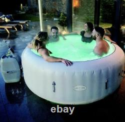 Lay z Spa Paris 6 Person Hot Tub With LED Lighting Free postage