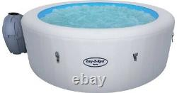 Lay-z-Spa Paris Inflatable Hot Tub 4-6 People LED lighting
