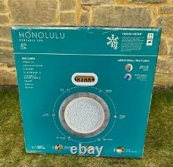 Lay-z-spa Honolulu 6 Person Hot Tub Led Lights 2021 Model Warranty