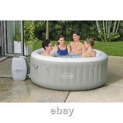 Lazy Hot Tub Lay Z Spa Tahiti 4 Person LED Lights Jacuzzi Not Bali Paris vegas