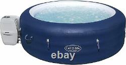 Lazy Lay-Z-Spa Hot Tub 4-6 People Airjet Massage System with Floating LED light