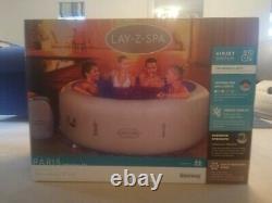 Lazy Spa Paris LED Lights 4/6 Person Brand New Hot Tub 2021 Edition