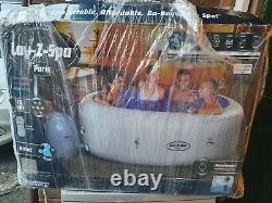 Lazy z spa paris hot tub LED lights 4-6 person