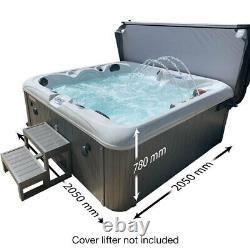 Luxury Hot Tub 5 Person Spa 38 Jets LED Lights, Speaker DELIVERED & INSTALLED