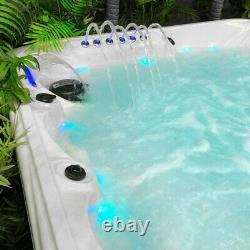 Luxury Hot Tub 6 Person Spa 90 Jets LED Lights, Speaker DELIVERED & INSTALLED