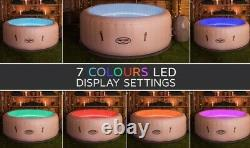 Luxury Lay Z spa lazy 6 Person Massage Air Jet LED Lights HOT TUB 2021 free p&p