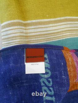 Missonihome 100% Linen Beach Towel Shawl Champignon Collection Tinka 100