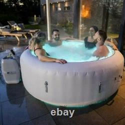NEW! Lay Z Spa Paris 2021 Version 6 Person Hot Tub with LED Lights FREE P&P NEW
