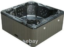 NEW Palm Spas Refresh+ 6 SEAT HOT TUB SPA AMERICAN MUSIC LED LIGHTS 32AMP