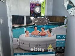 New 2021 Lay-Z-Spa Vegas AirJet Hot Tub & Floating LED Light CAN DELIVER LOCALLY