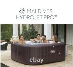 New Lay Z Spa Maldives Hydrojet Hot Tub5-7 People-LED LightsFREE DELIVERY