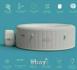 New Lay Z Spa Paris 4-6 Person Hot Tub LED Light With Remote