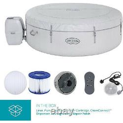 New Lay-z-spa Paris Hot Tub Built In Led Light System With Freeze Shield Jet