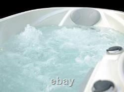 New Palm Spas Jana Luxury Hot Tub Spa 2 Seat Balboa Music Bluetooth Lights 32amp