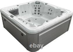 New Palm Spas Malibu Balboa Hot Tub Spa 6 Seats Music Lights Lounger 32amp 5