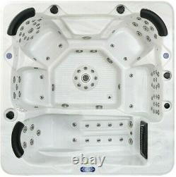 New Palm Spas Palma+ Hot Tub Spa Seat 6 Person Music Lights Lounger 32amp