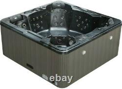 New Palm Spas Refresh+ Hot Tub Spa Seat 6 Person Music Lights Lounger 32amp