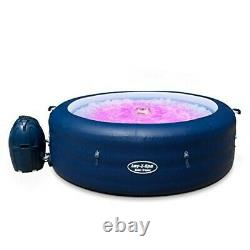 New York Lay-Z-Spa Airjet 4-6 Hot Tub (+ LED LIGHTS) EX-DISPLAY
