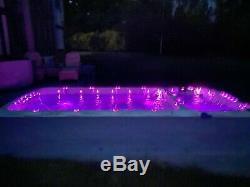 Passion Spirit Deep Swim Spa Hot Tub, Massage, Rowing, Water Jets, Light, Music