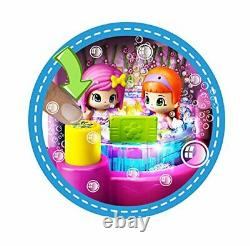 Pinypon Centre Of Beauty Bath And Spa Hot Tub with Lights Bubbles + Doll Pin Pon