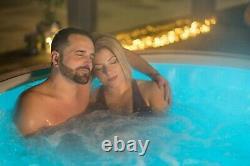 Spa Lazy HOT TUB Paris 4-6 Person Luxury Massage Air Jet LED Lights 2021