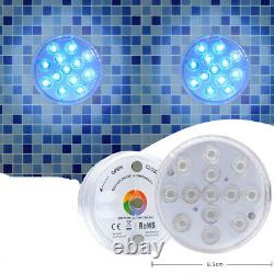 Underwater 13xLED Waterproof Color Changing Bathtub Lights for Party Shower Spa